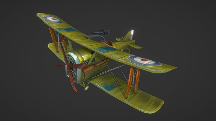 The Flying Circus: 1-32 SE.5a 'Hisso' 3D Model