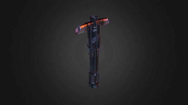 TFA: Kylo Ren's Lightsaber 3D Model