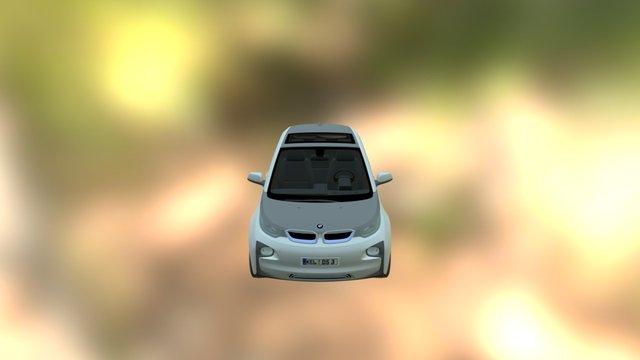 BMW I3 3D Model