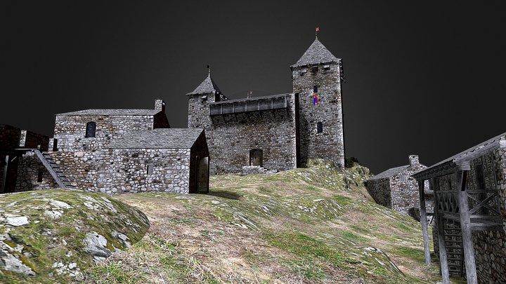 Château de Miglos - Ariege 3D Model