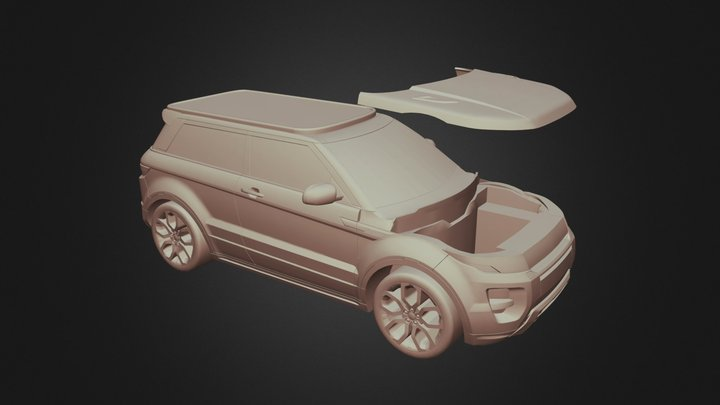 Range Rover Impresión 3d 3D Model