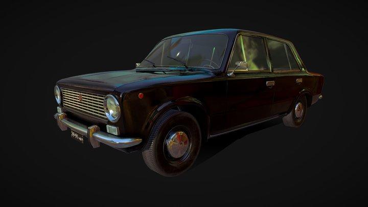 USSR VAZ-2101 3D Model