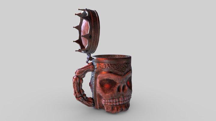 the kingslayer beer stein 3D Model