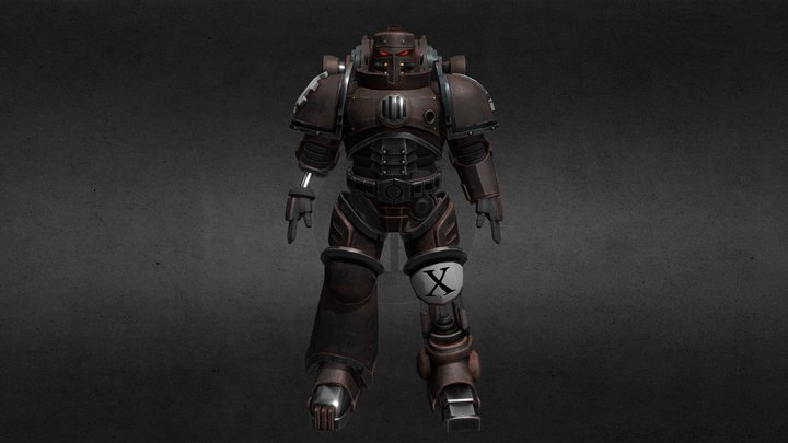 Iron Hand Primaris 3D Model