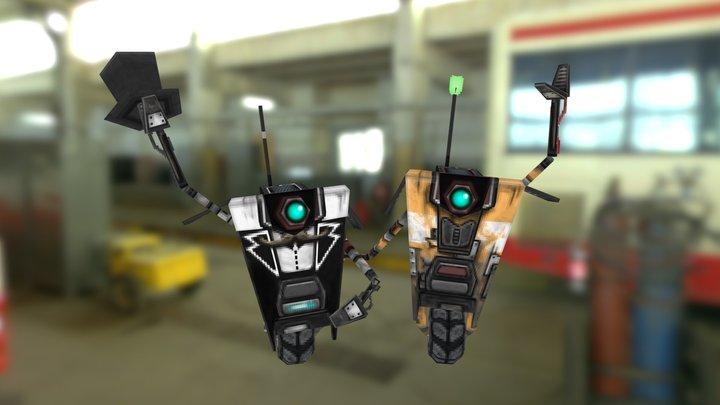 Clap Trap 3D Model