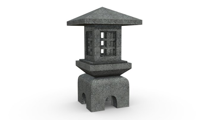 Pagode2 3D Model