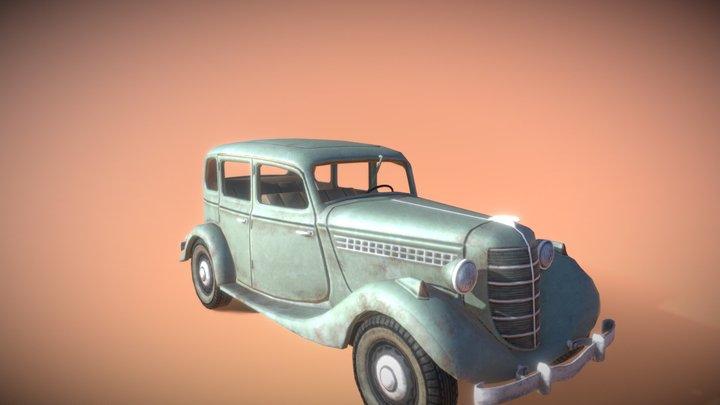 Fancy Car 3D Model