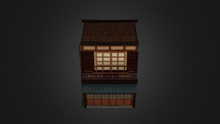 Grocery Store 3D Model