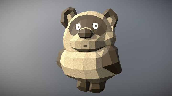 Winnie the Pooh 3D Model