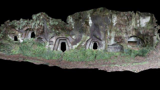 石貫ナギノ横穴群 3D Model