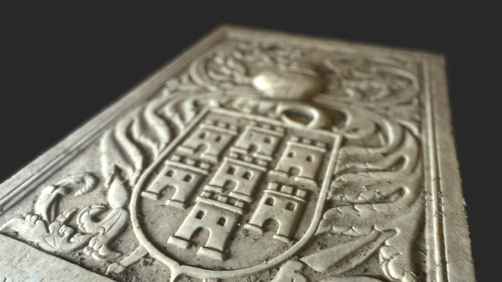 Túmulo de D. Mécia de Moura 3D Model