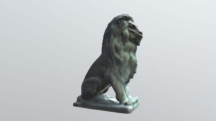 Capital Grille Lion 3D Model