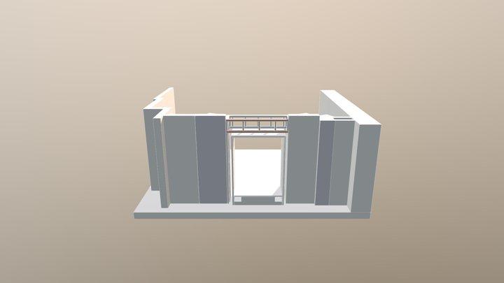 Control WIndow - Part 1 3D Model