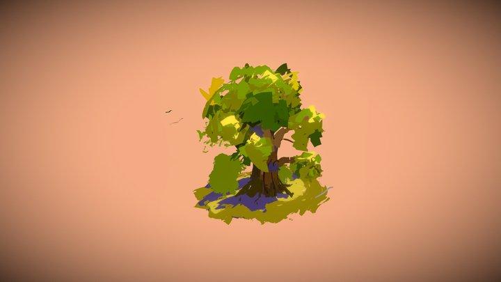 My first tree 3D Model