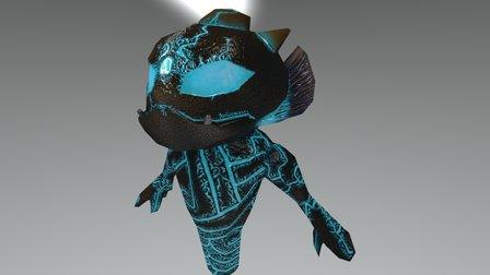 Water Golem 3D Model