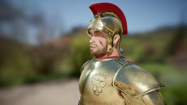 Roman Soldier (WIP) 3D Model