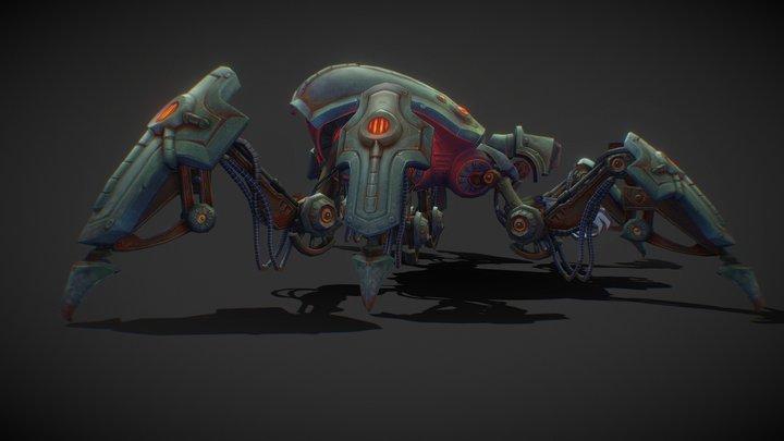 Mount Spider [M] 3D Model