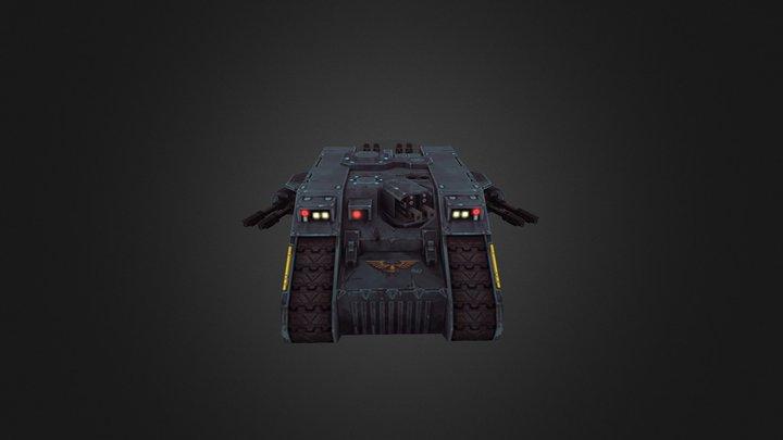 Space wolf Land raider [Old school ] 3D Model