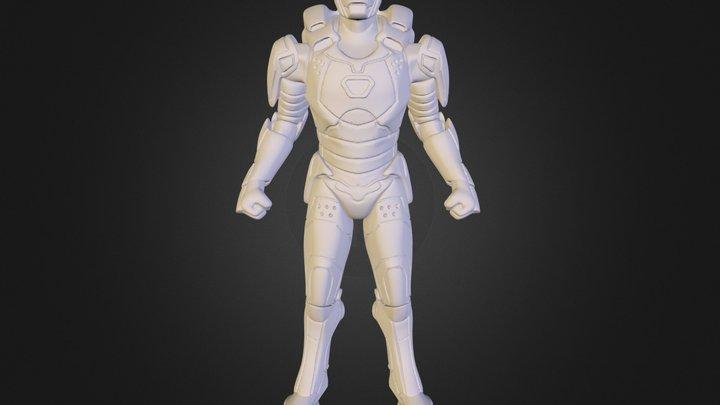 Ironman Gemini - printable 3D Model