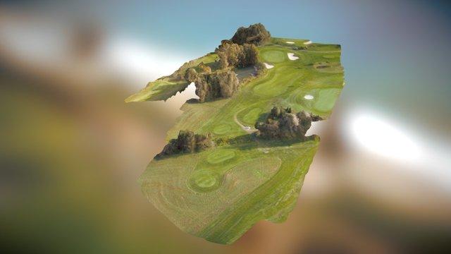 Dolomitengolf - Golf Course - Par 3 3D Model