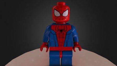 Lego Spiderman 3D Model
