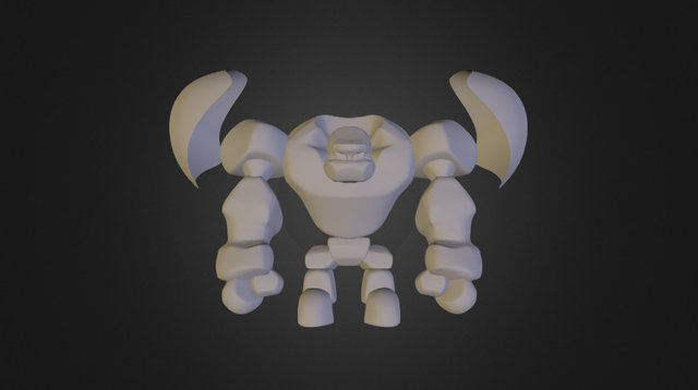 Golem 3D Model