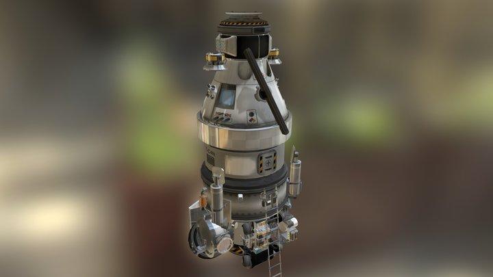 Interplanetary Ship - Kassandra 3D Model