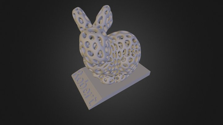 Bunny Robert 3D Model