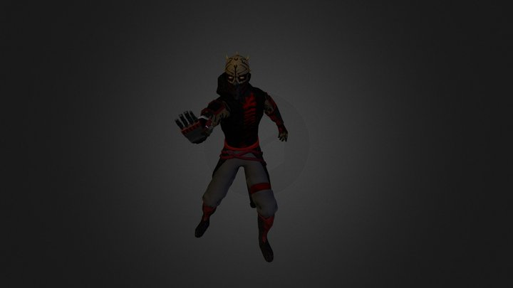 Darth Hewan 3D Model
