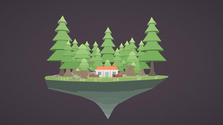 Iyo's Home 3D Model