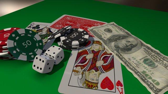 Poker 3D Model