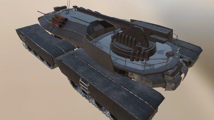 Terroyale Mk. III - Rev. 03 3D Model