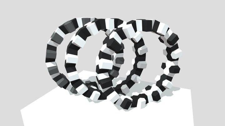 Les scutoids qui font la ronde. 3D Model