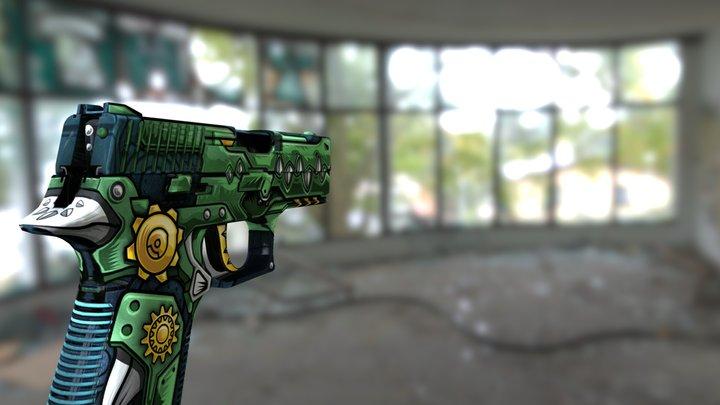 P228 CSGO Random Skin 3D Model