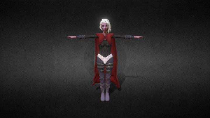 Manon Blackbeak 3D Model