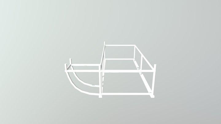 rusztowanie 3D Model