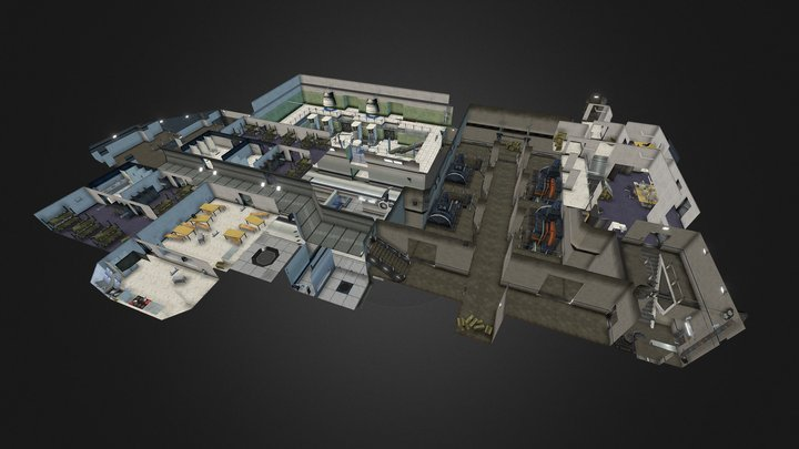 Level5 Zone1 (Level Design 2002) 3D Model