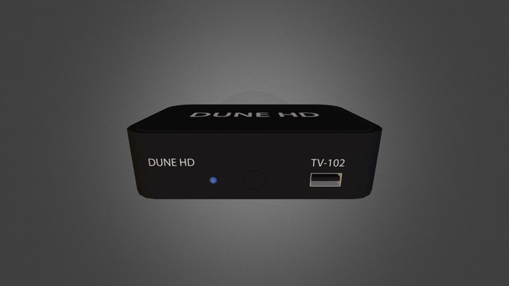 duneHD 102 3D Model