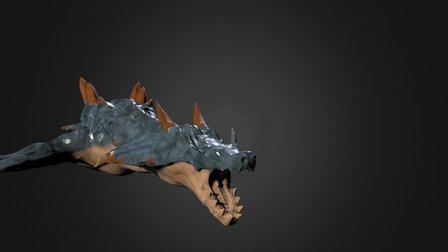 Lagiacrus 3D Model