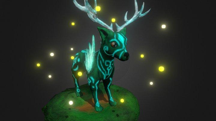 Deer Dog 3D Model