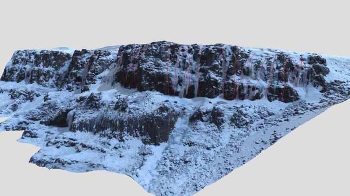 Múlafjall - Testofan 3D Model