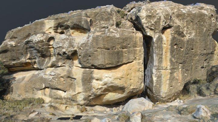 Bouldering rock 3D Model