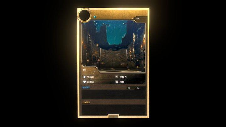Card of Tower of Saviors 3D Model