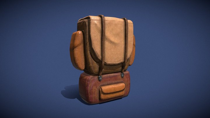 Backpack for tools 3D Model