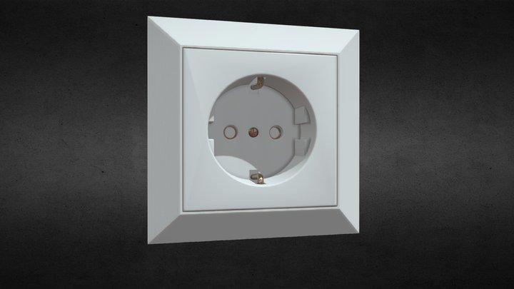Electrical Outlet 3D Model