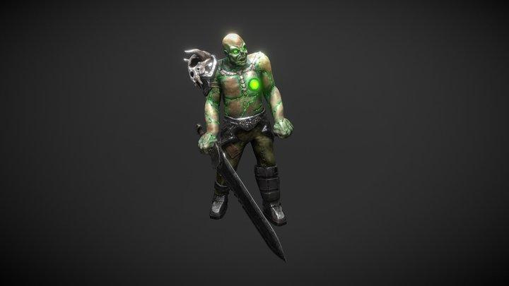 ZombieBig 3D Model
