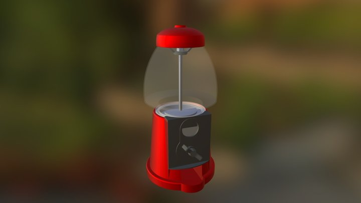 Candy Bar Assembly 3D Model