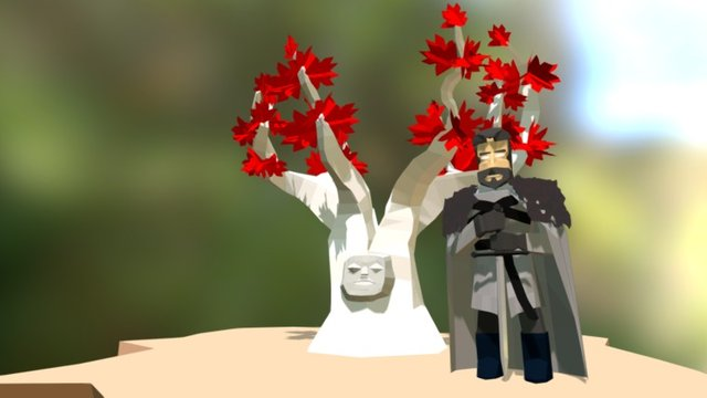Eddard Stark fanmade 3D Model