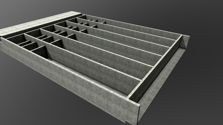 Concrete Test 3D Model