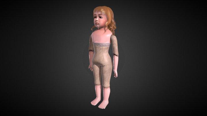 Bébé Bru 3D Model